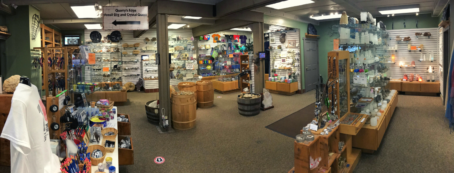 Photo of our Gift Shop in the Cave Entrance Building