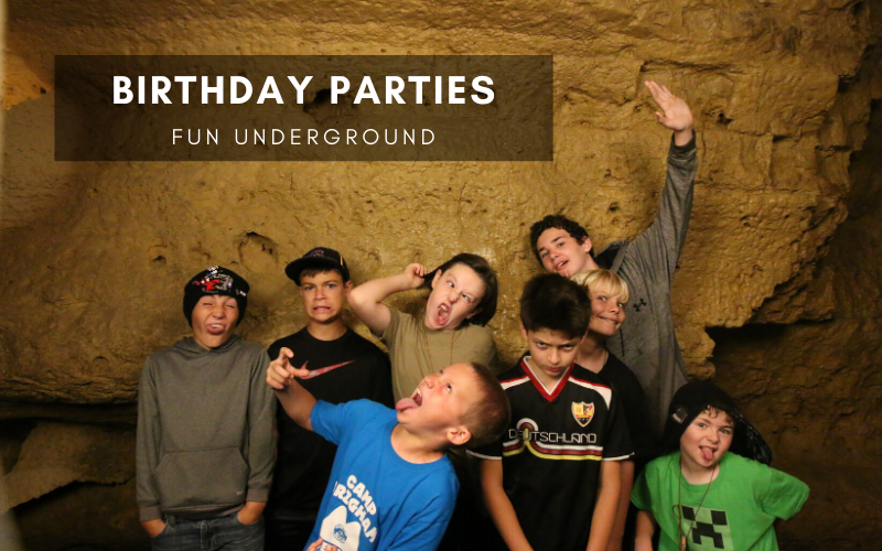 Birthday Parties Fun Underground