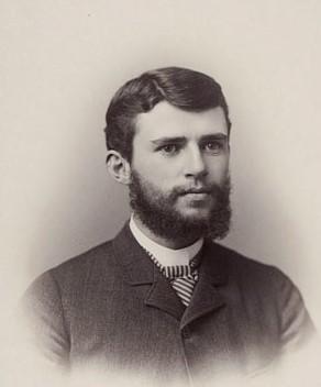 Photo of Charles I. Brigham in 1885.