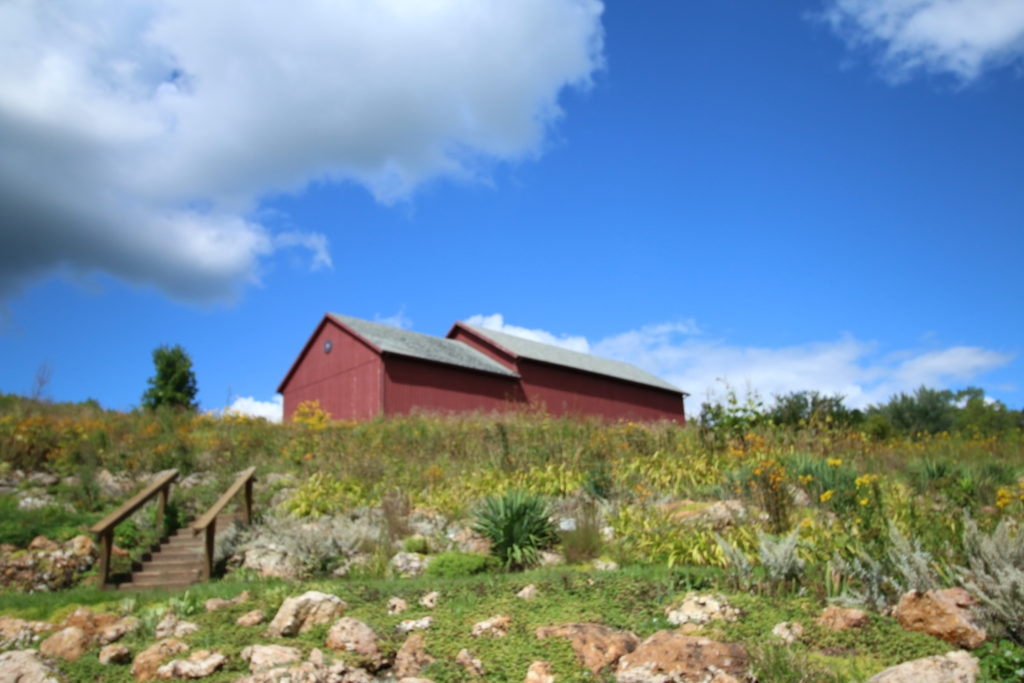 Photo of our Barn in the Summer
