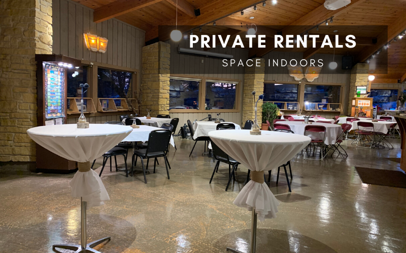 Private Rentals Space Indoors
