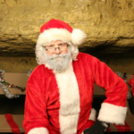 Photo of Santa at Cave of the Mounds