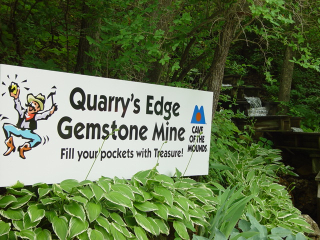 Photo of our Quarry's Edge Sign