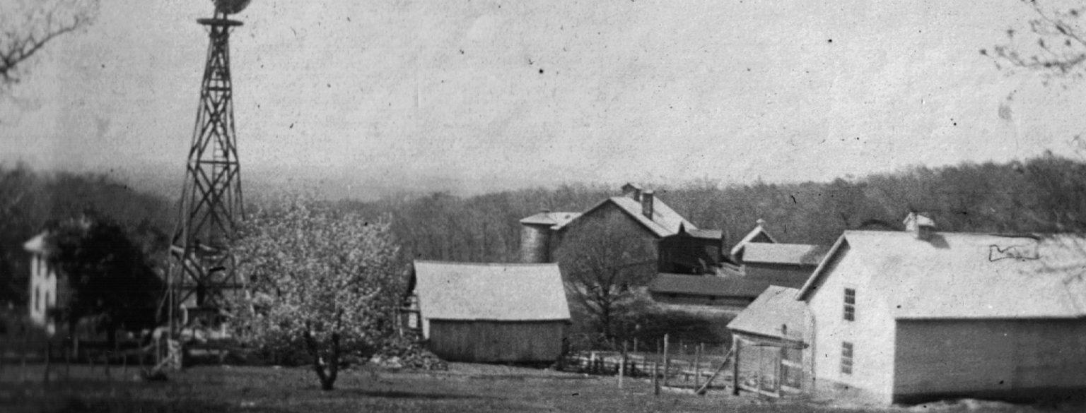 Outside Vintage Barn photo circa 1910